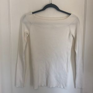 White Off-the-Shoulder Top from J-Crew